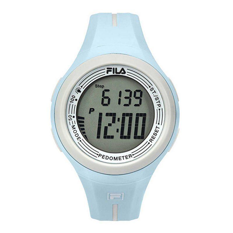 Relógio Fila Pedometro Active Azul Claro
