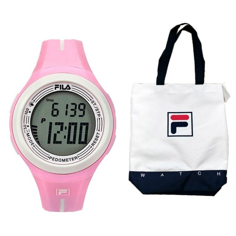 Relógio Fila Pedometro Active Com Bolsa
