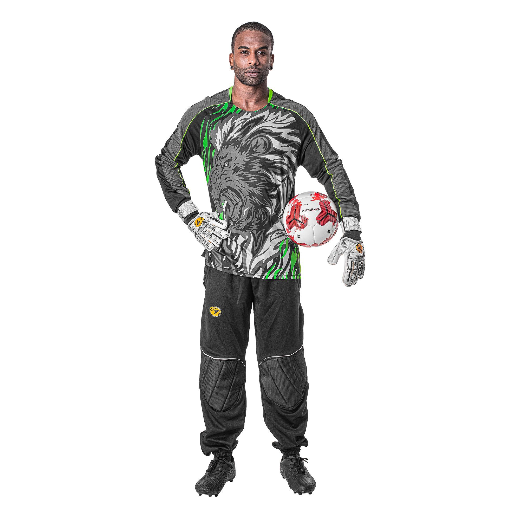 Uniformes Goleiro Poker Lion Contact 2