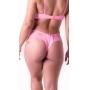 Calcinha Julie - fio duplo com renda lateral e detalhe nas costas