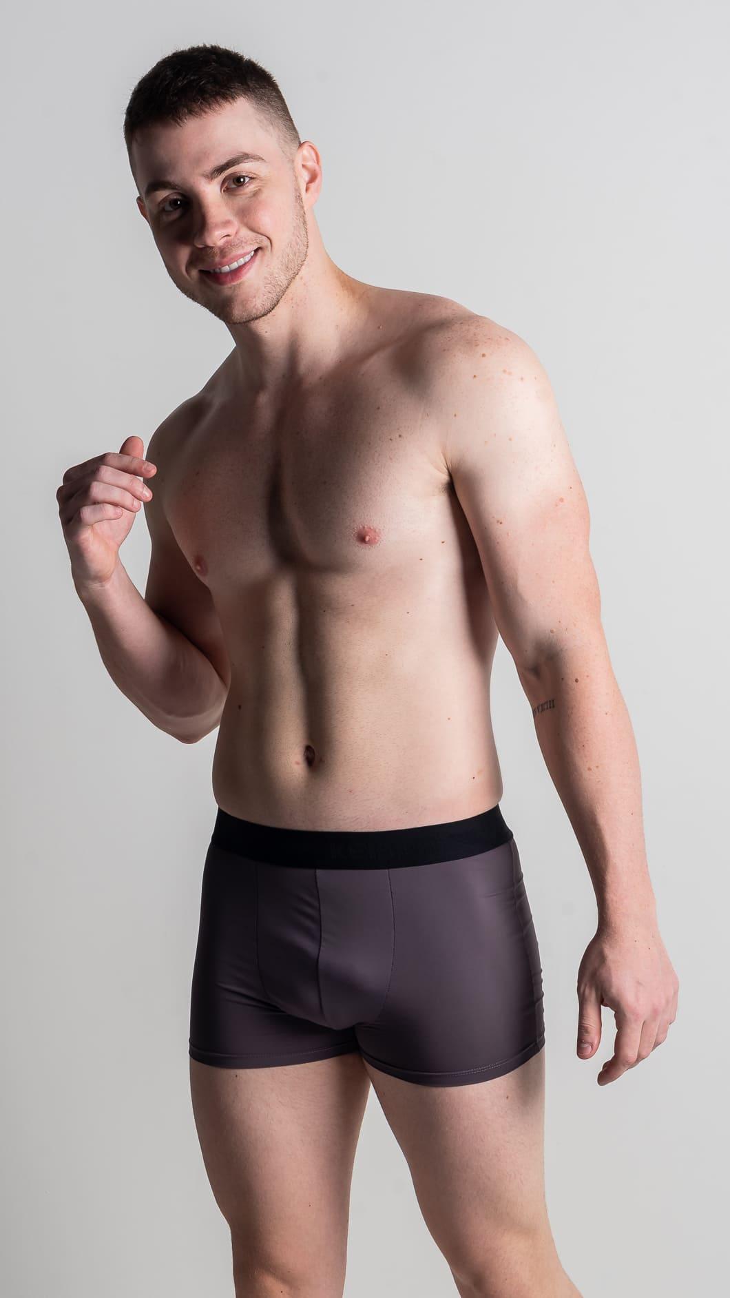 Boxer dry fit tradicional - Cores lisas - Ciro