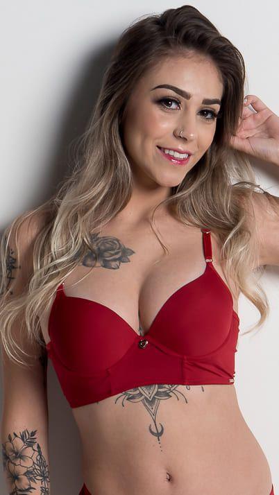 Sutiã Alessandra - tipo cropped sob medida personalizado