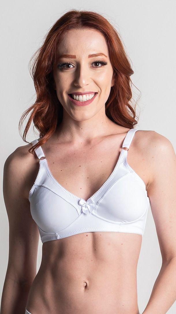 Sutiã Leonora - algodão sustentação sem bojo