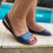 Sandália Bella Azul Marinho