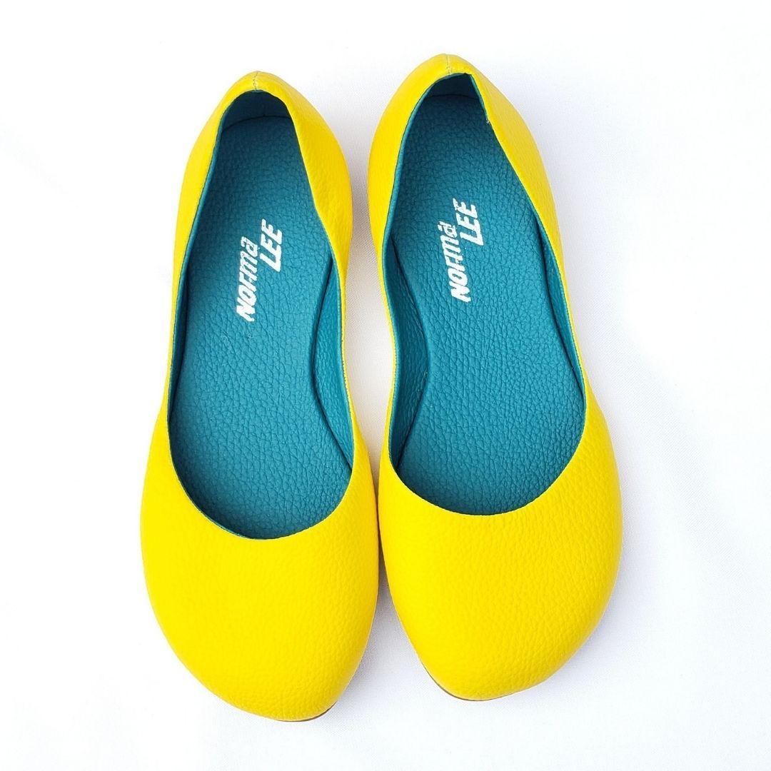 Sandália Lua Amarela solado Tiffany