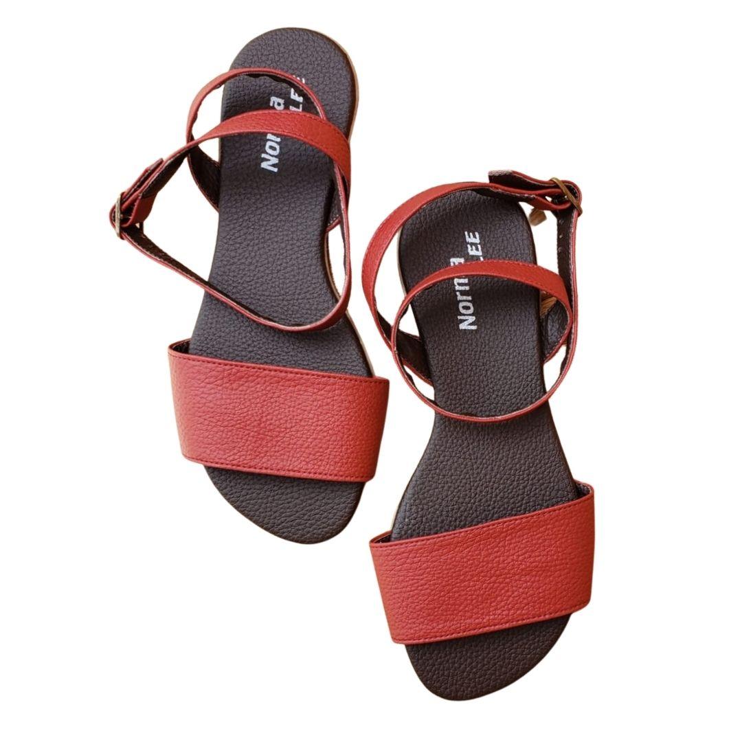 Sandália Mary Vermelha