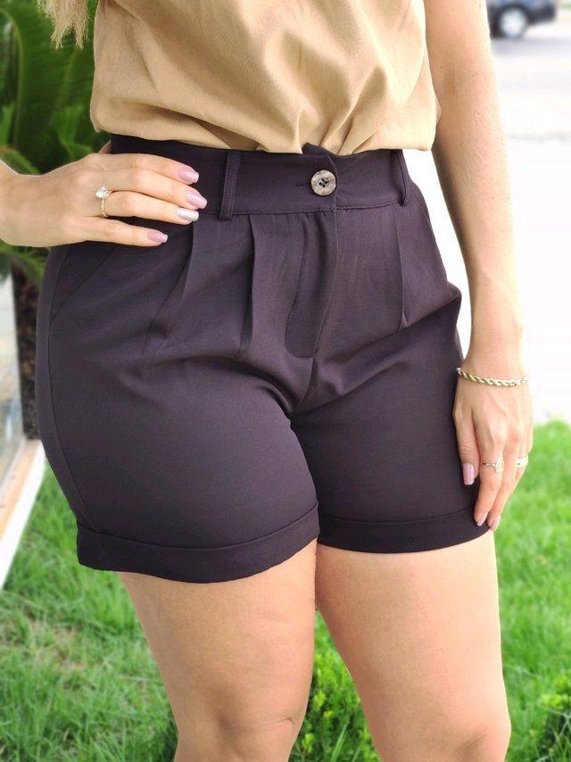 Shorts Barra Italiana Preto