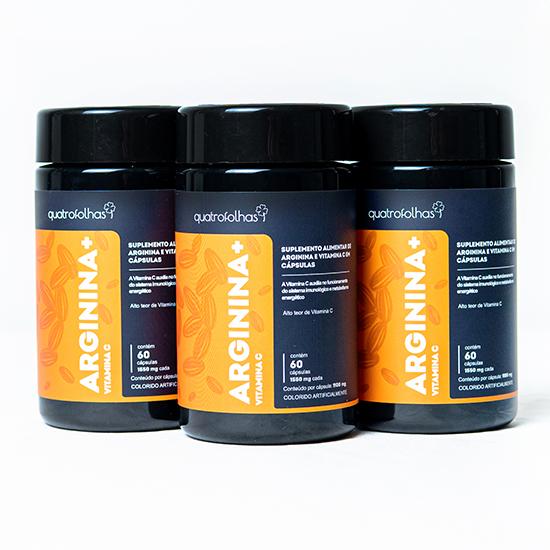 Arginina + Vitamina C - Tripla