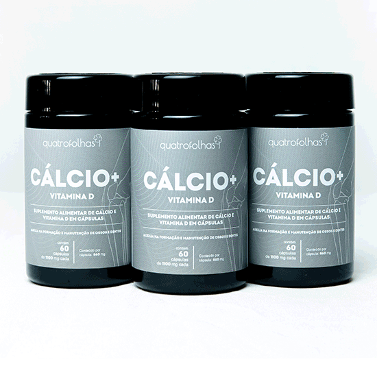 Cálcio + Vitamina D - Triplo