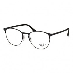 Óculos de Grau Ray Ban RX6362 Preto Brilho e Fosco