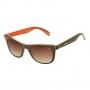Óculos de Sol Jackdaw 37 Marrom e Laranja Brilho