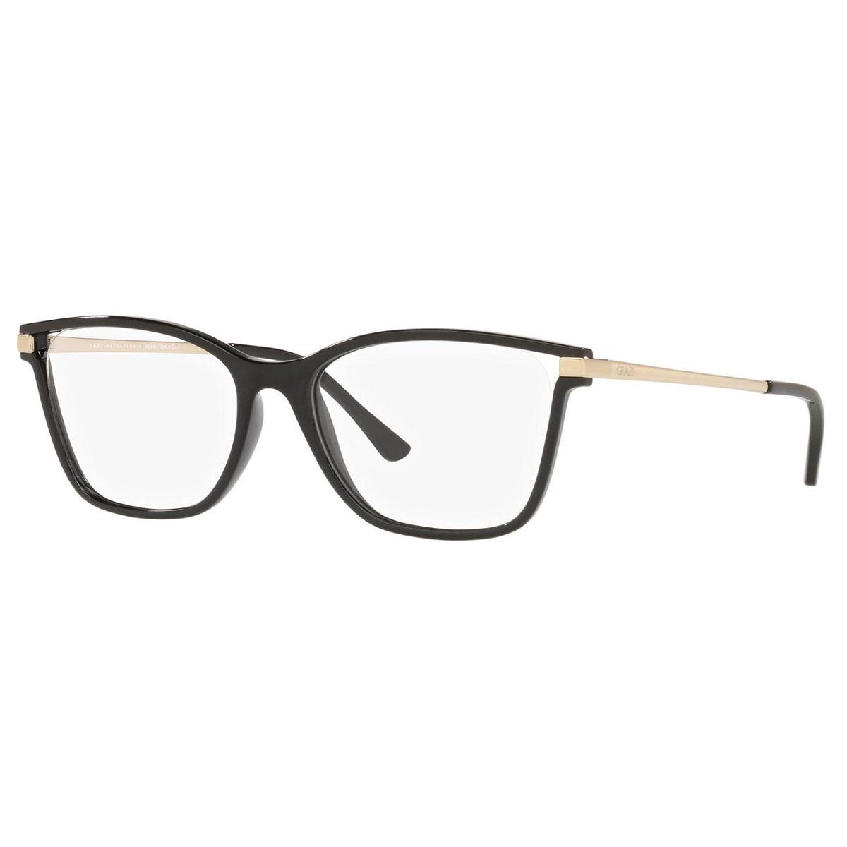 Armação de Grau Grazi Eyewear GZ3068 Preto Brilho Tamanho 53