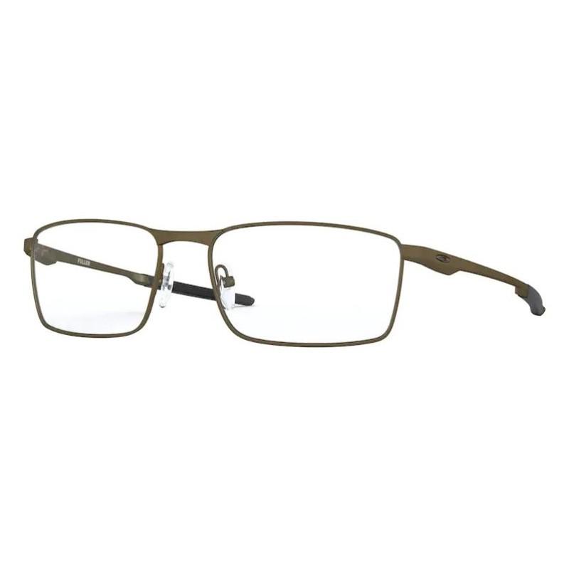 Armação de Óculos de Grau Oakley Fuller OX3227 Silver Fosco