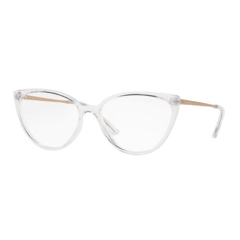 Armação de Óculos Feminina Grazi GZ3076 Transparente Brilho