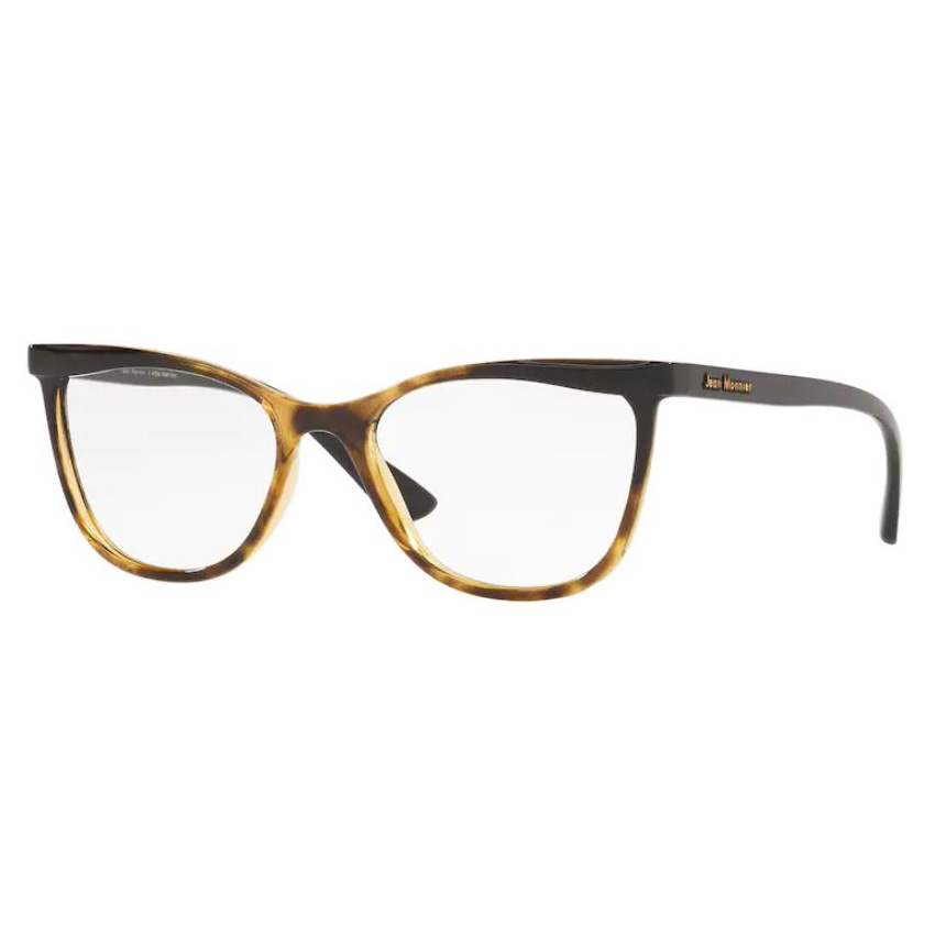 Armação de Óculos Feminina Jean Monnier J83190 Marrom Havana