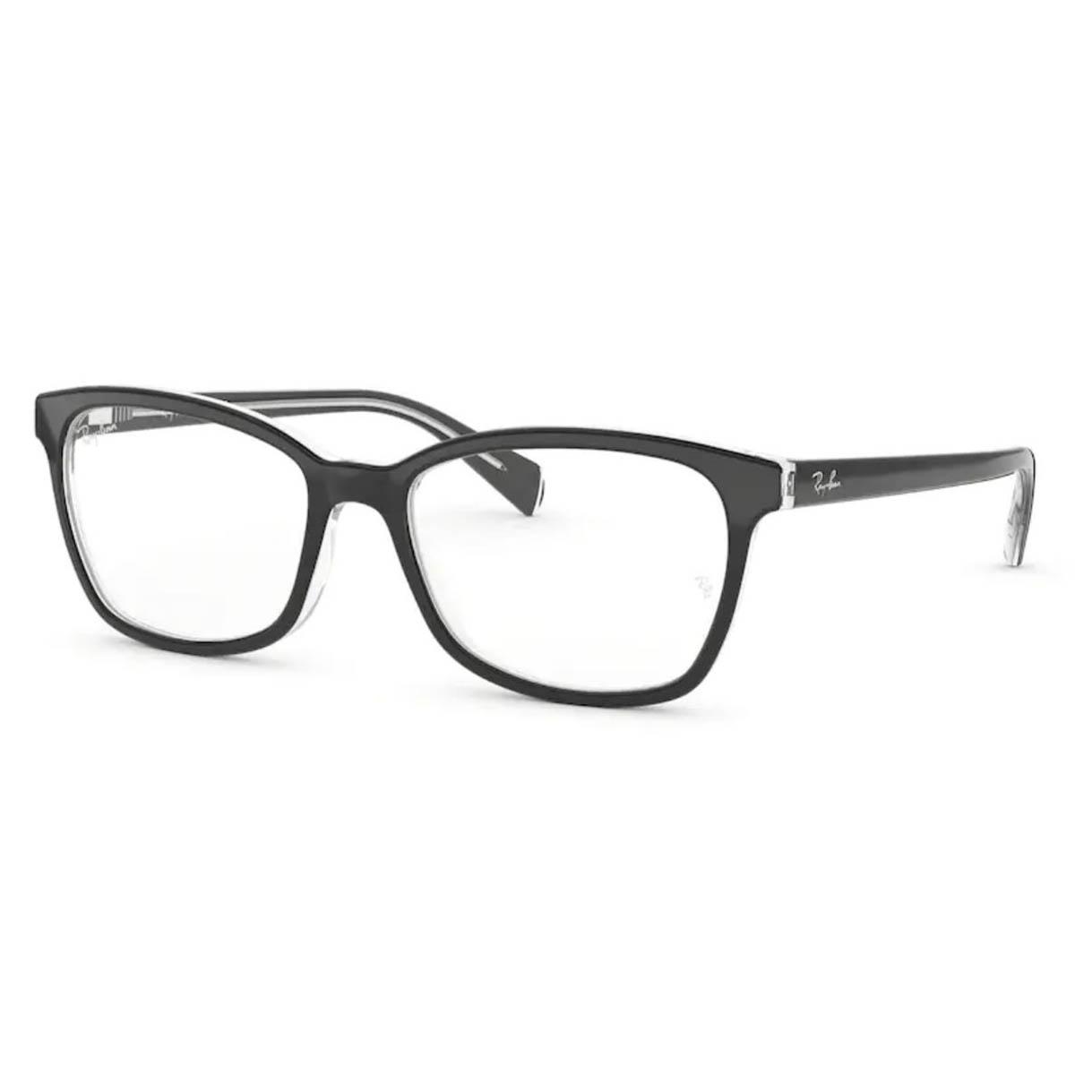 Armação de Óculos Feminino Ray Ban RX5362 Acetato Preto Brilho