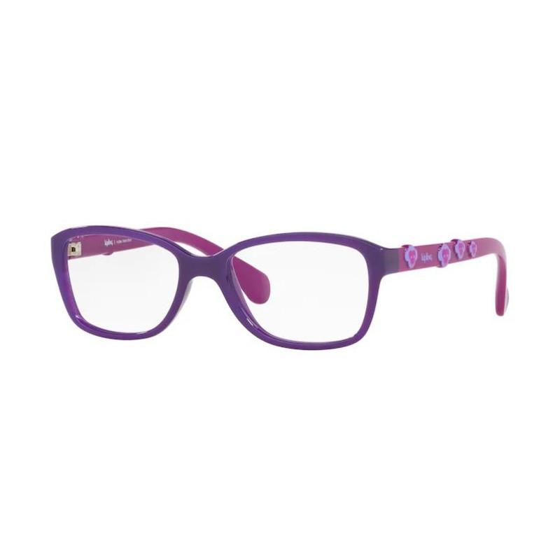 Armação de Óculos Infantil Feminino Kipling KP3116 Roxo Brilho