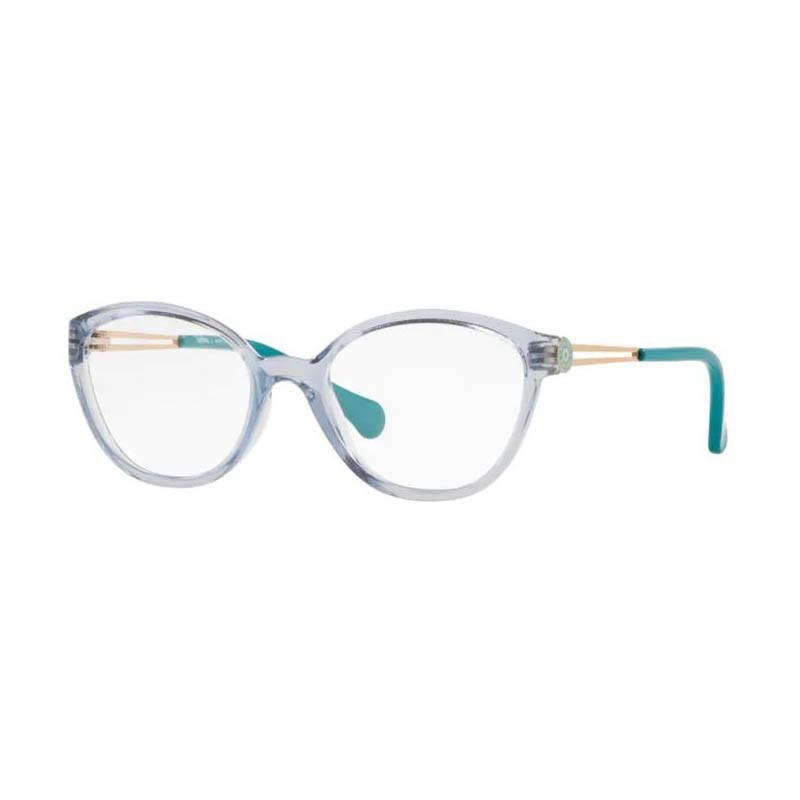 Armação de Óculos Infantil Kipling KP3123 Azul Translúcido