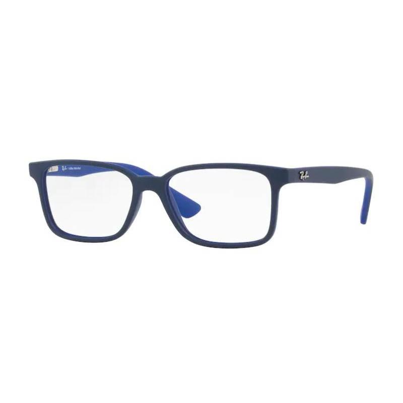 Armação de Óculos Infantil Ray Ban RY1572L Azul Marinho Fosco