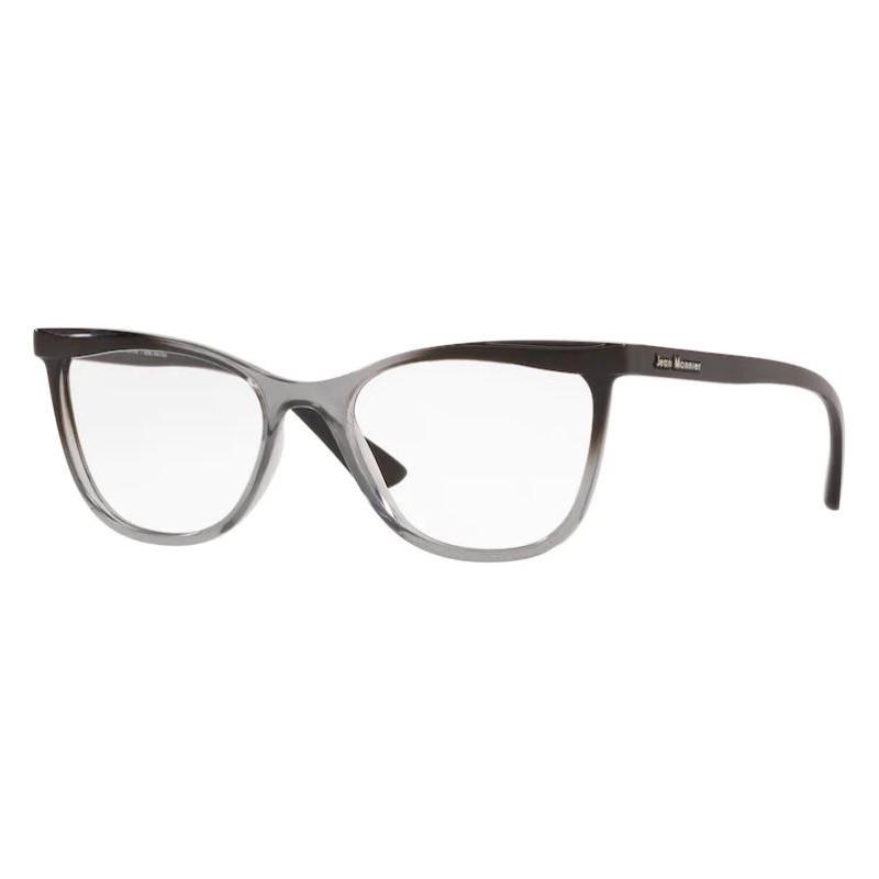 Armação de Óculos Jean Monnier J83190 Cinza com Preto Brilho
