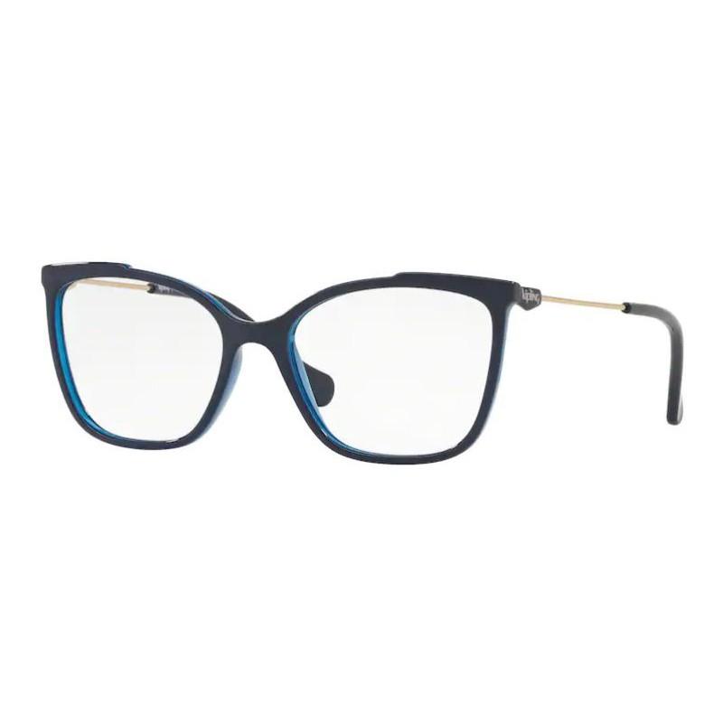 Armação de Óculos Kipling KP3112 Quadrado Azul Brilho Feminino