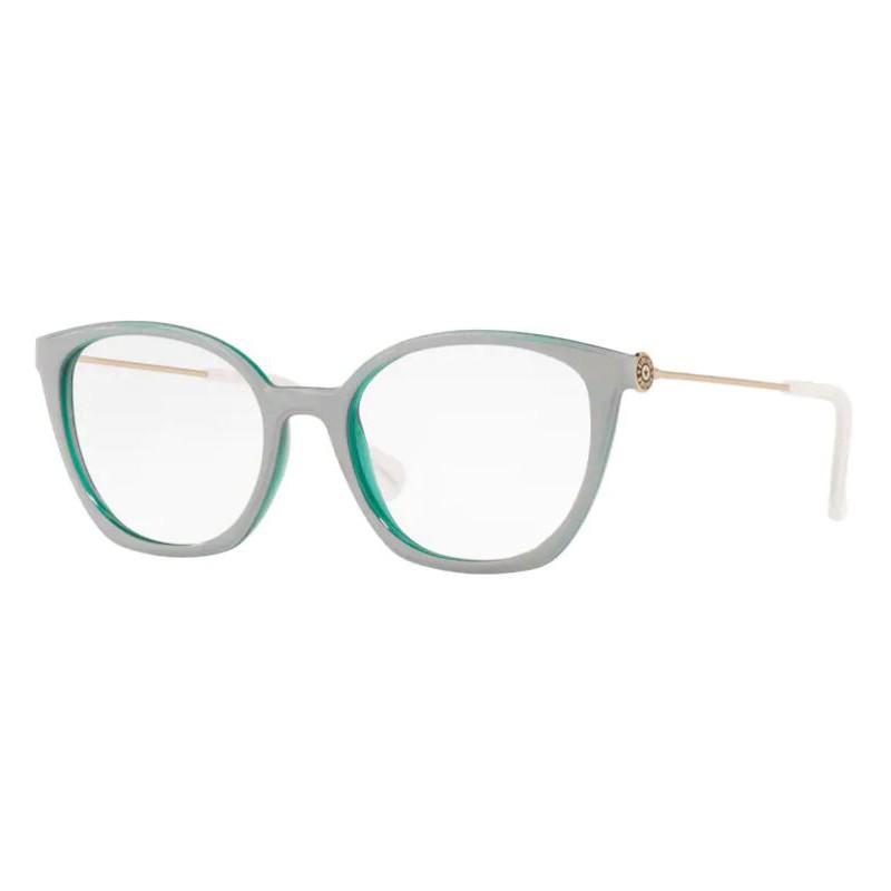 Armação de Óculos Kipling KP3132 Cinza com Verde Brilho