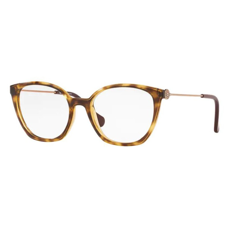 Armação de Óculos Kipling KP3132 Marrom Caramelo Havana Brilho