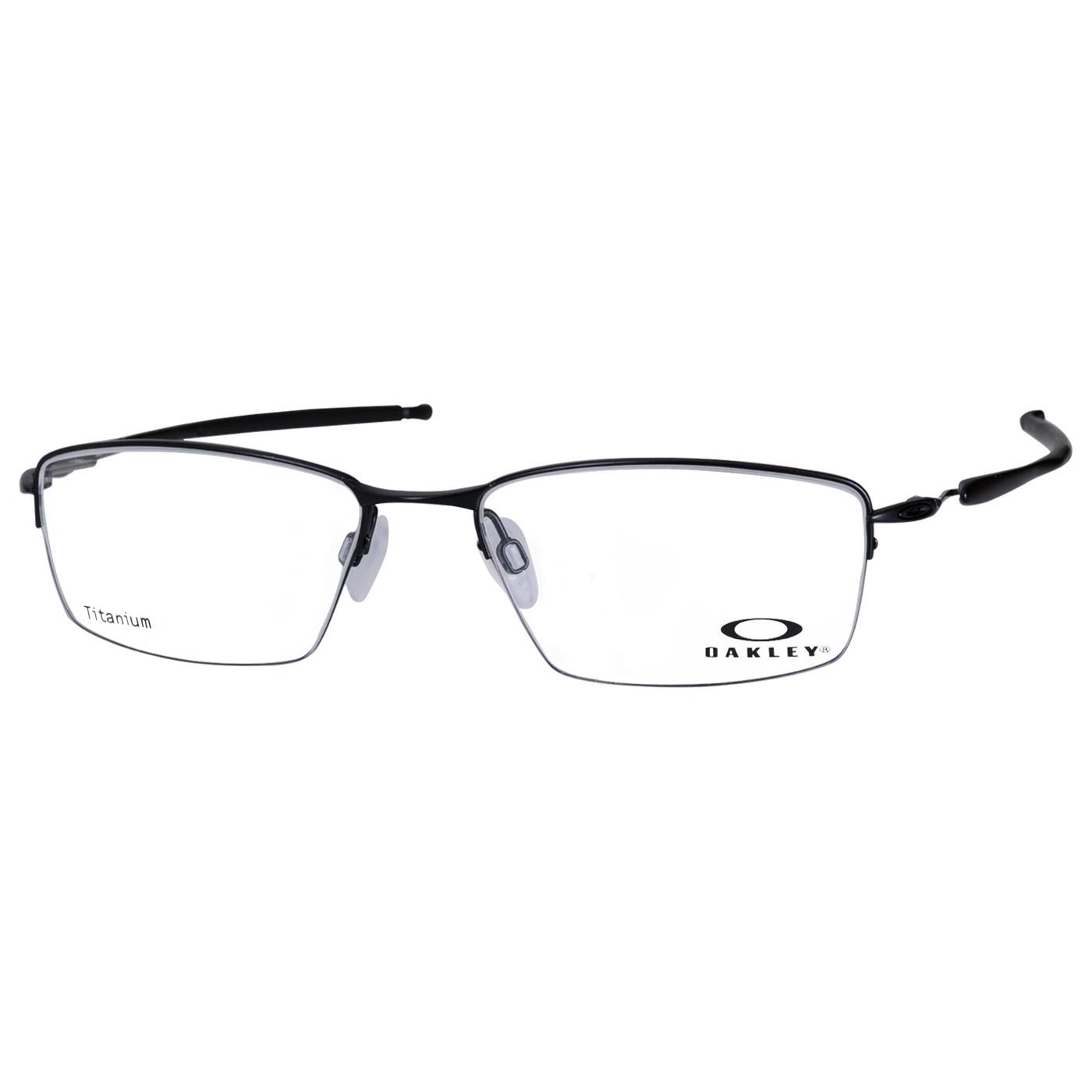 Armação de Óculos Oakley Lizard OX5113 Titanium Preto Fosco