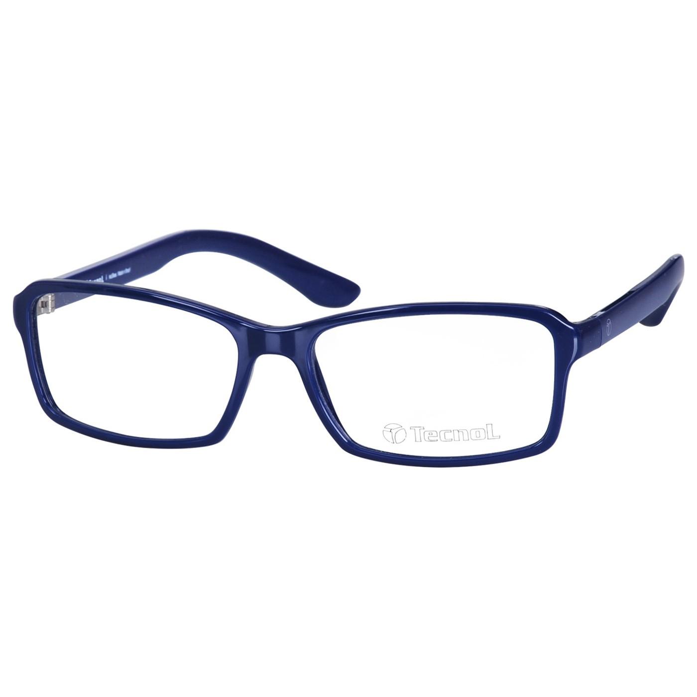 Armação de Óculos Pequeno Tecnol TN3023 Azul Brilho Tamanho 53