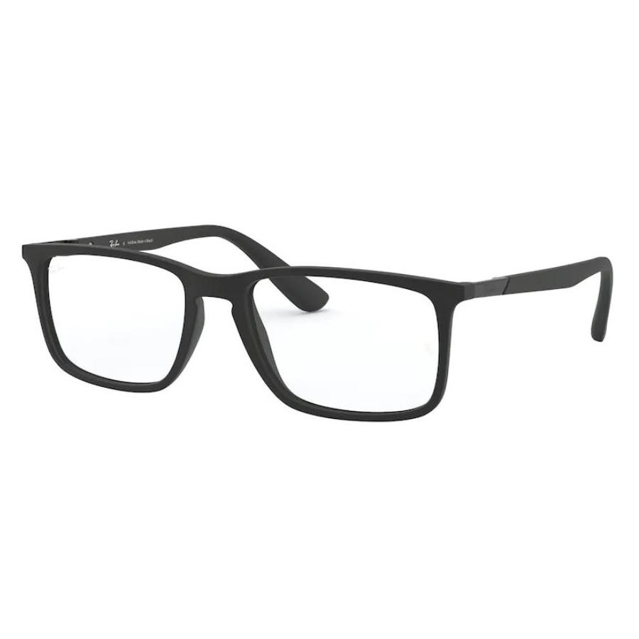 Armação de Óculos RayBan RX7158L Preto Fosco Grande