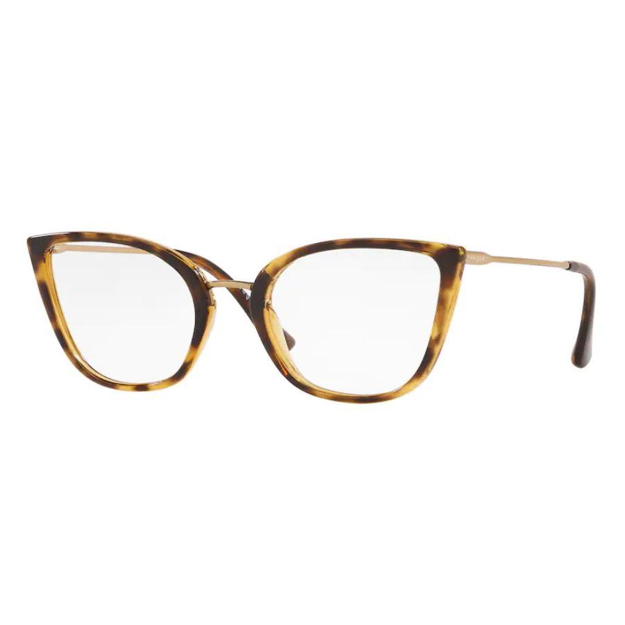 Armação de Óculos Vogue VO5299L Marrom Havana Gatinho