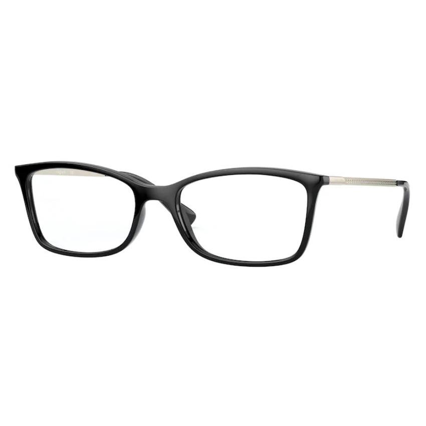 Armação de Óculos Vogue VO5305B Preto Brilho Tamanho 54