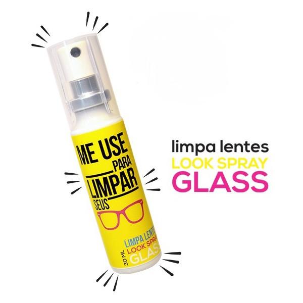 Limpa Lentes Look Spray Glass 30 ml