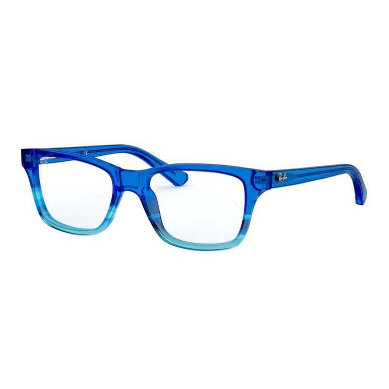 Óculos de Gau Infantil RayBan RY1536 Azul Degradê Brilho