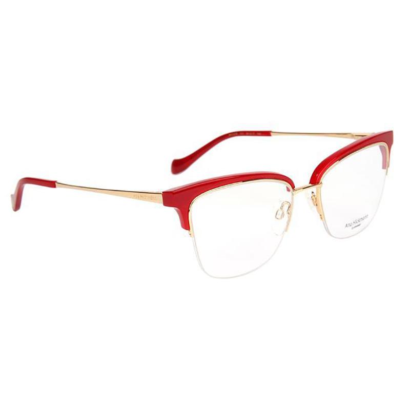 Óculos de Grau Ana Hickmann AH1378 Vermelho Brilho