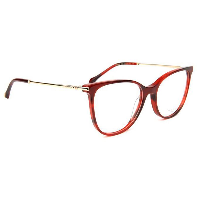 Óculos de Grau Ana Hickmann AH6388 Vermelho Brilho