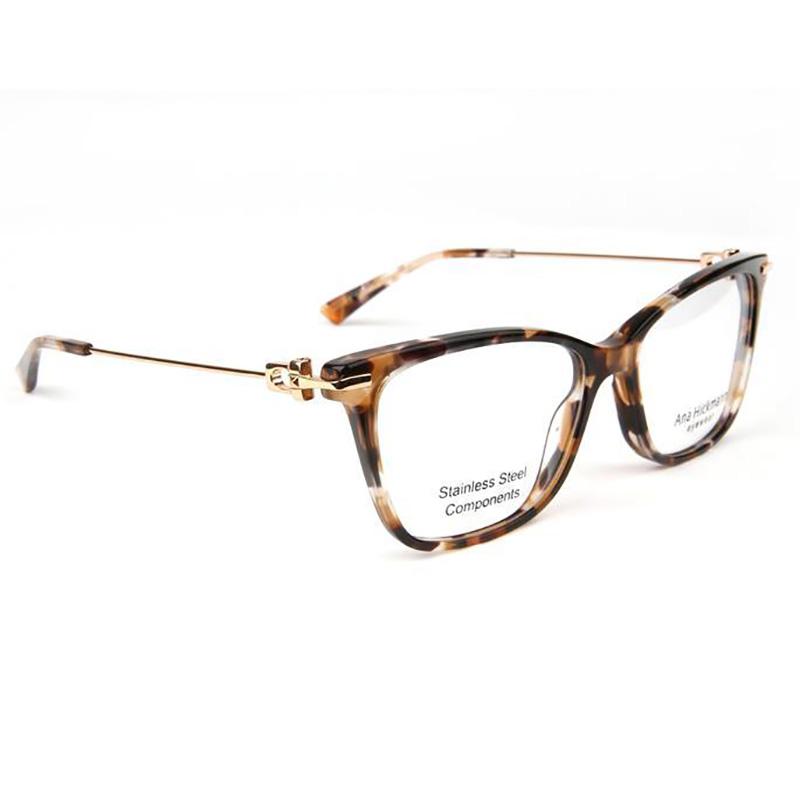 Óculos de Grau Ana Hickmann AH6413 Marrom Tartaruga