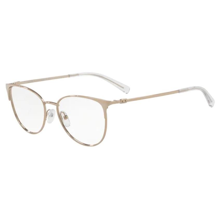 Óculos de Grau Armani Exchange AX1034 Dourado Rose Pequeno