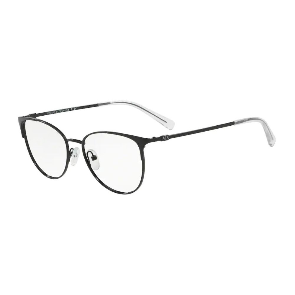 Óculos de Grau Armani Exchange AX1034 Pequeno Preto Brilho