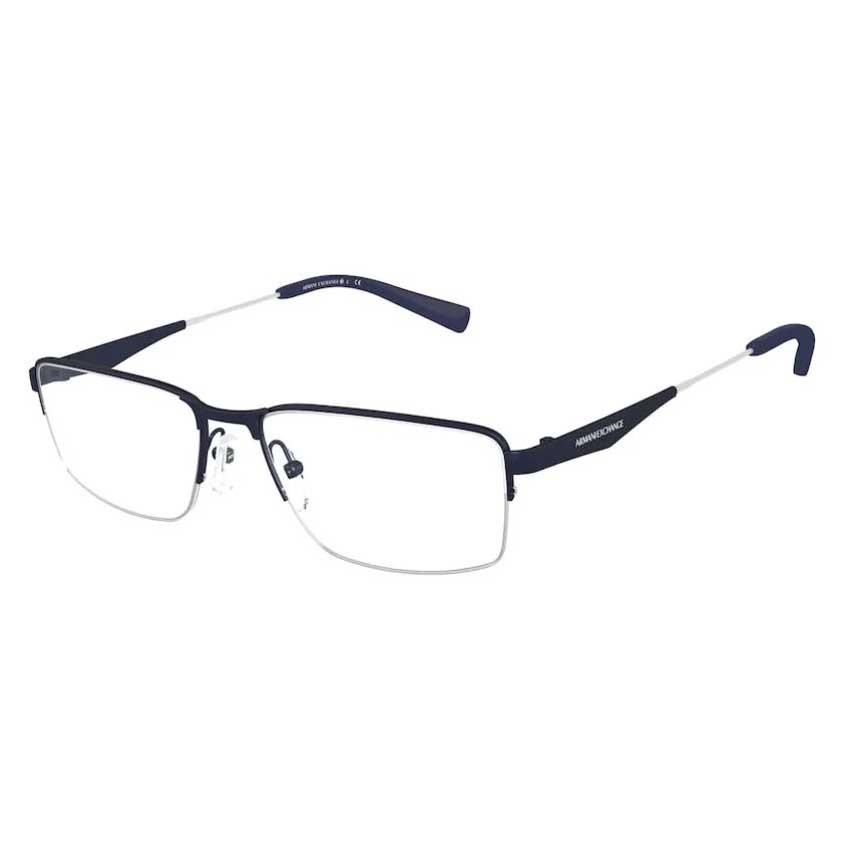 Óculos de Grau Armani Exchange AX1038 Metal Azul Fosco