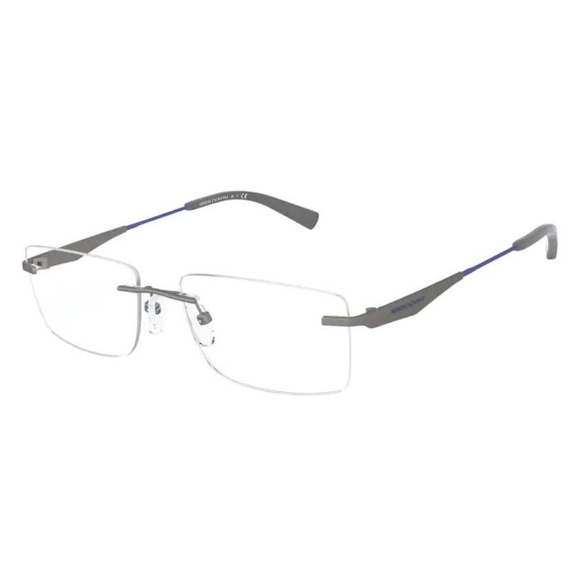 Óculos de Grau Armani Exchange AX1039 Metal Cinza Fosco