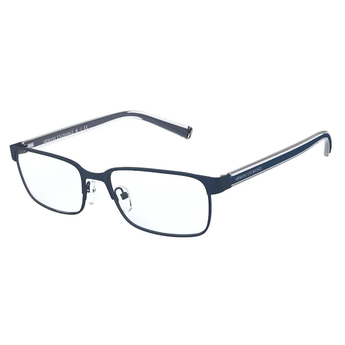 Óculos de Grau Armani Exchange AX1042 Azul Fosco