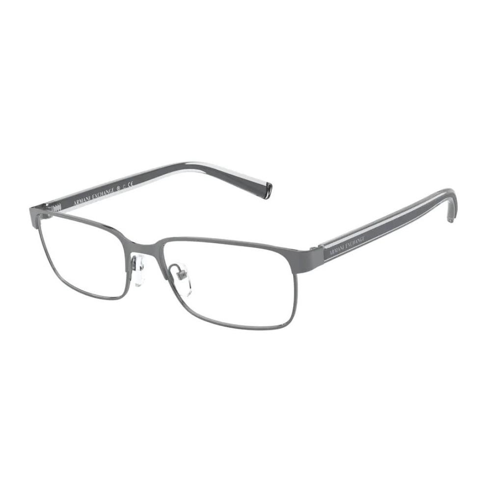 Óculos de Grau Armani Exchange AX1042 Cinza Fosco