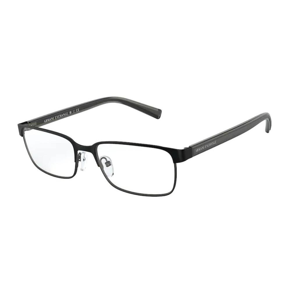 Óculos de Grau Armani Exchange AX1042 Metal Preto Fosco