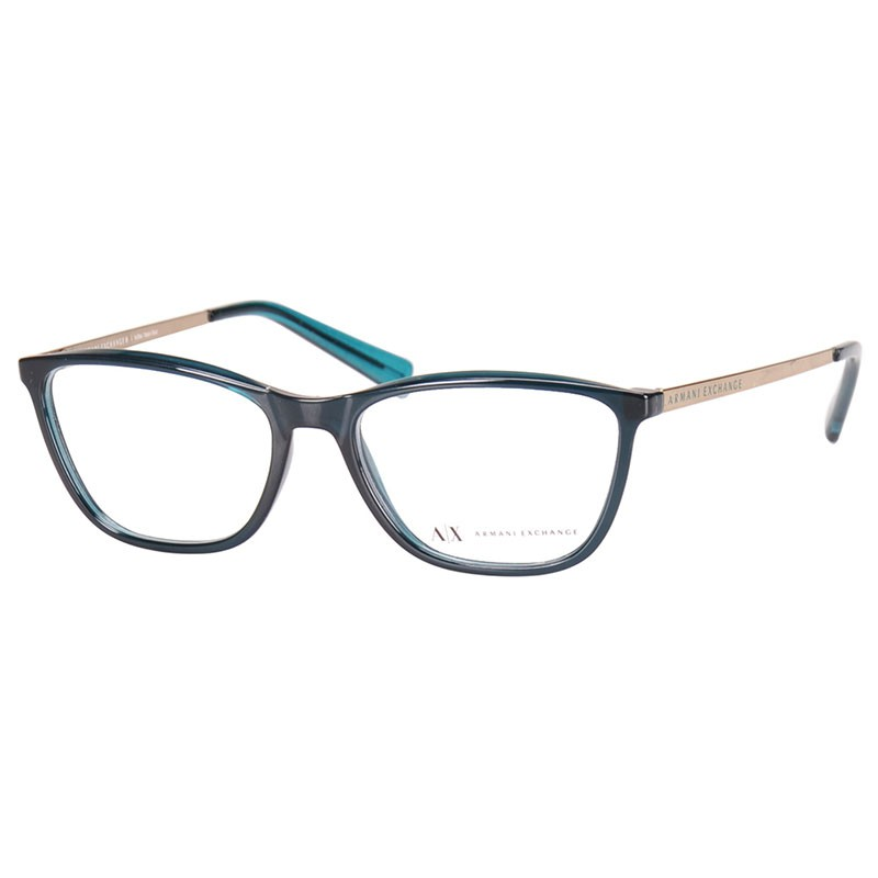 Óculos de Grau Armani Exchange Feminino AX3028L Verde Turquesa