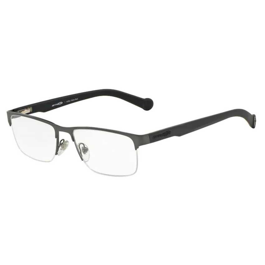 Óculos de Grau Arnette AN6096L Metal Cinza Fosco Tamanho 54