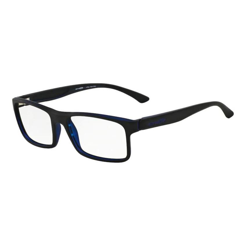 Óculos de Grau Arnette AN7069L Pequeno Preto com Azul Fosco