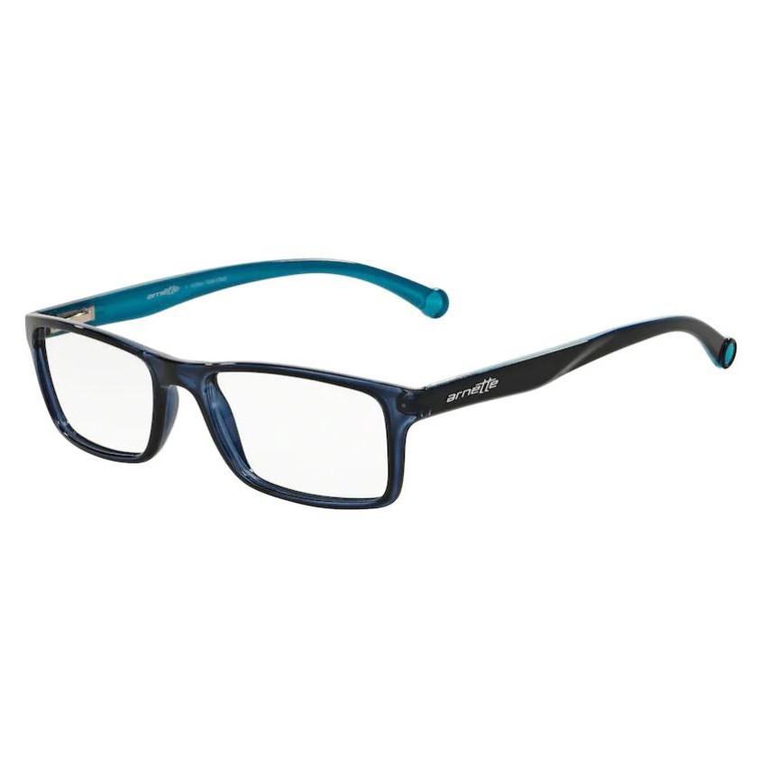 Óculos de Grau Arnette AN7073L Masculino Azul Marinho Translúcido