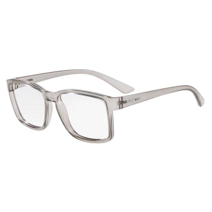 Óculos de Grau Arnette AN7177L Dirkk Cinza Transparente Tamanho 55