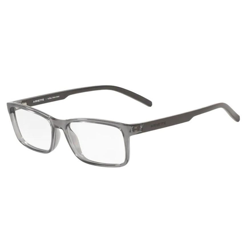 Óculos de Grau Arnette AN7178L Mooca Cinza Translúcido